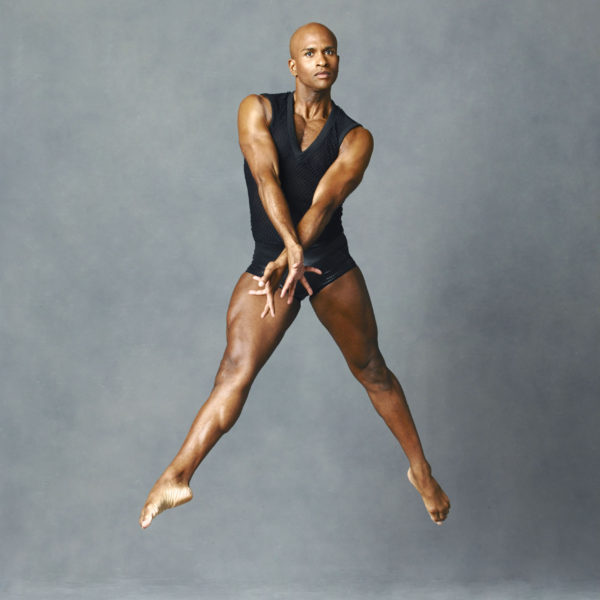 Alvin Ailey American Dance Theater's Glenn Allen Sims. Photo by Andrew Eccles