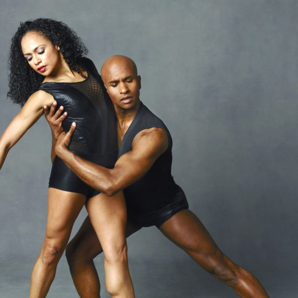 Alvin Ailey American Dance Theater's Linda Celeste Sims and Glenn Allen Sims. Photo by Andrew Eccles_02